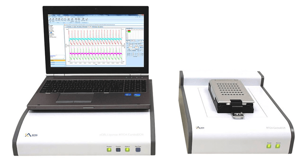 xCELLigence RTCA Cardio ECR (Cardiomyocate Contractility and Electrical Activity) system