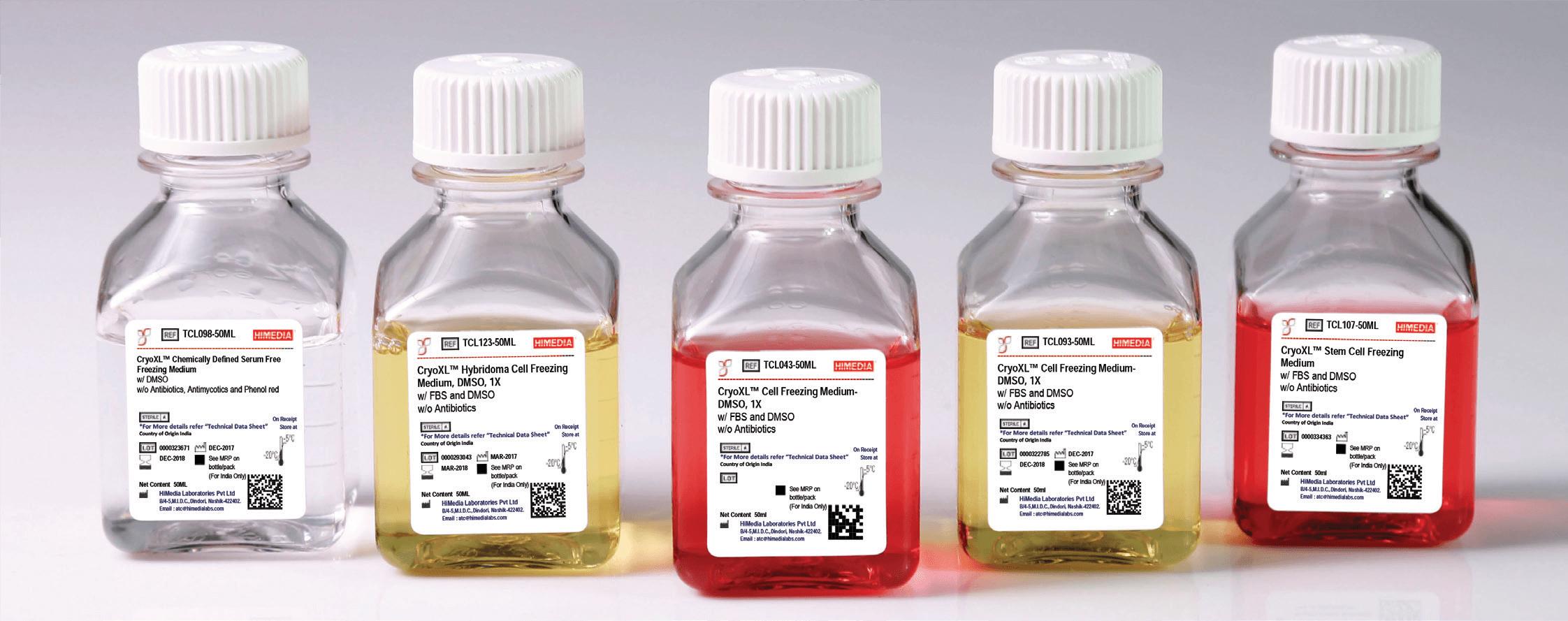 Cryopreservation Bottles
